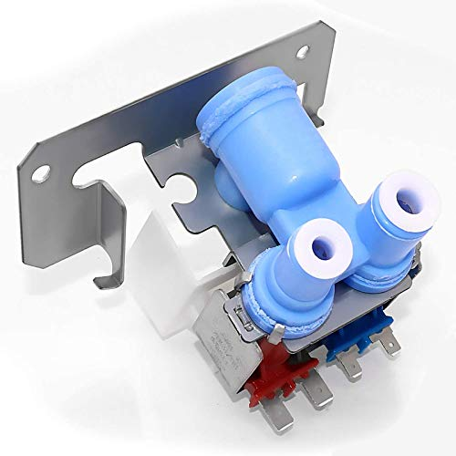 Beaquicy WR57X10051 Refrigerator dual water inlet valve kit - Replacement for GE Hotpoint Kenmore Refrigerator