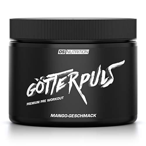 OS NUTRITION Götterpuls Premium Pre Workout Mango 308g
