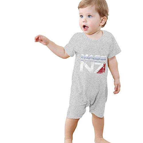 Mass Effect Alliance N7 Logo Infant Girl Boys Clothes 100% Cotton Bodysuit Funny Cute Jumpsuit 0-24M