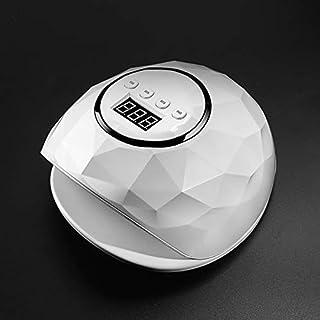 Xxadliy 72W / 86W UV Lamp Nail Dryer UV LED Gel Nail Lamp Nail Polish Fast Curing Gel Lamp (Color : 72W White)