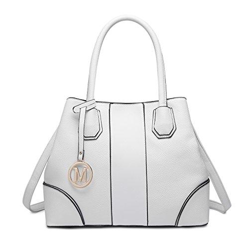 Miss Lulu Borsa a spalla Design elegante Maniglia superiore Borse di...