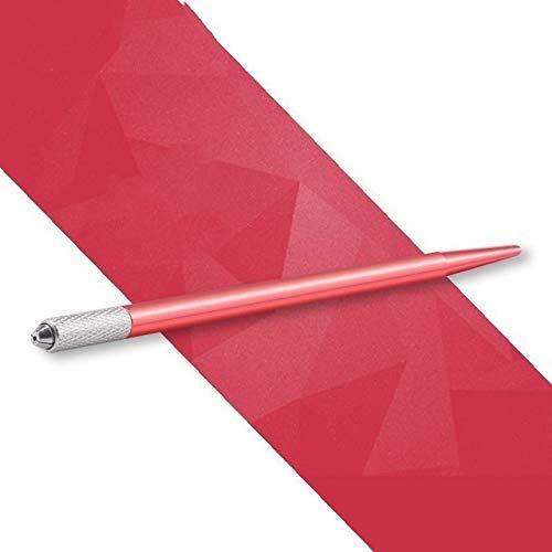 Ssg Microblading machine de tatouage permanent Outils de tatouage Maquillage Sourcils Tattoo Pen manuelle Poignée de Cils Mini Outils manuels Nouveau (Color : Red)