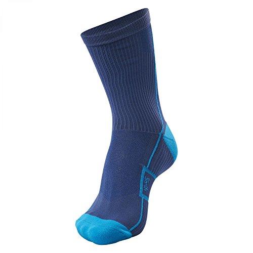 hummel Kinder Tech Indoor Low Socken, Saragossa Sea, 10 (36-40)