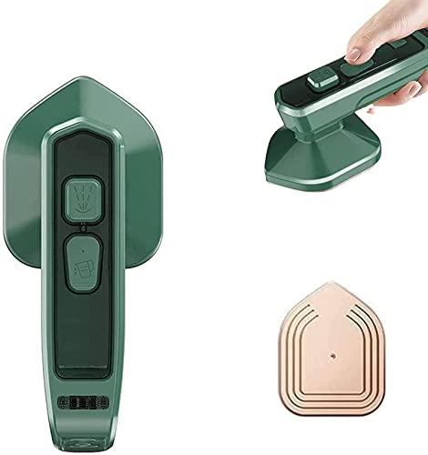 Micro plancha de vapor profesional inalámbrica - vaporizador de ropa de mano portátil, máquina para eliminar arrugas de ropa, soporte para planchado seco y húmedo, adecuado para el hogar y los viajes