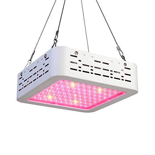 XECCON LED Pflanzenlampe 600W Vollspektrum LED Grow Light Wachstumslampe für zimmerpflanzen mit Daisy-Chain Funktion(96 leds)