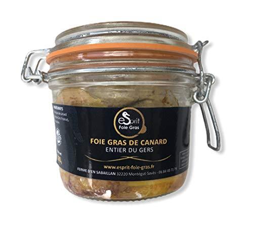 Esprit Foie Gras - Foie gras de canard entier du Gers - 300 grs - Conserverie familiale du Gers - Pour 6 personnes - Canard élevé et transformé dans le Gers - Terroir et gastronomie du Sud-Ouest
