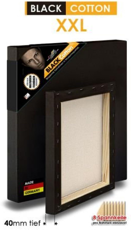 schwarz COTTON - XXL XXL XXL - Bespannte Keilrahmen Größe 165x270cm  B01BLOOC7K | Luxus  7cbb01