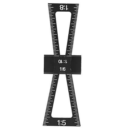 Trazador de carpintería Localizador de punzón Herramienta de marcado Guía de taladro Hardware Plantilla de orificio Sistema de bolsillo Posicionador Perforación Aleación de aluminio Adecuado para posi