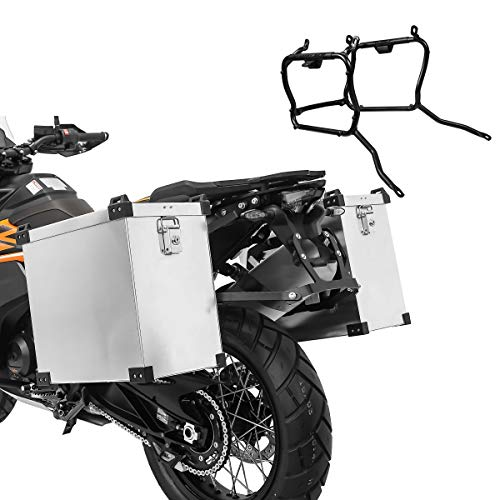 Maletas Laterales Aluminio para KTM 950 Adventure/S 03-06 Namib 35-40l Soporte