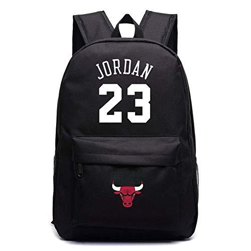 Michael Jordan 23 Zaini Borse da Scuola Zaini Borse da Scuola Borse da Viaggio for Studenti Zaino for Laptop (Color : Black)