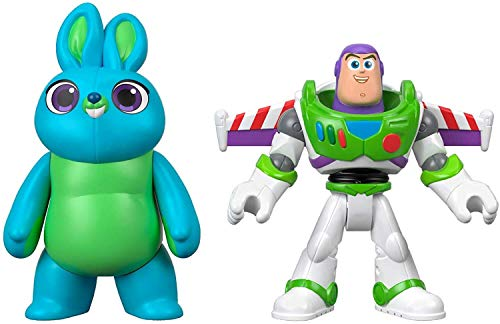 Fisher-Price Disney Pixar Toy Story 4 Bunny and Buzz Lightyear