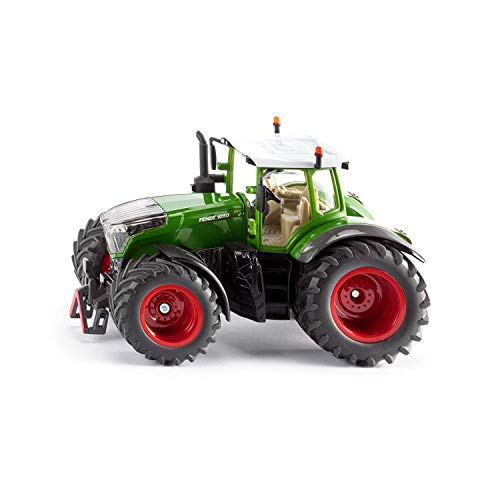 SIKU 3287, Fendt 1050 Vario Traktor, 1:32, Metall/Kunststoff, Grün, Abnehmbare Fahrerkabine, Front- und Heckkupplung