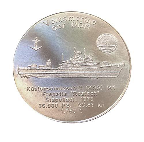 Schwarzenberger Altstadtthaler, Silber 1/2 Oz Münze, KSS 141 Volksmarine DDR Rostock, Geschenk