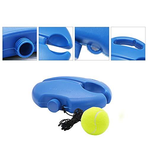 LncBoc - Pelota de Entrenamiento de Tenis, Equipo de Entrenamiento de Tenis con Cuerda, Herramienta de Equipo de práctica Individual con Rebote automático y Banda de Goma antibobinado