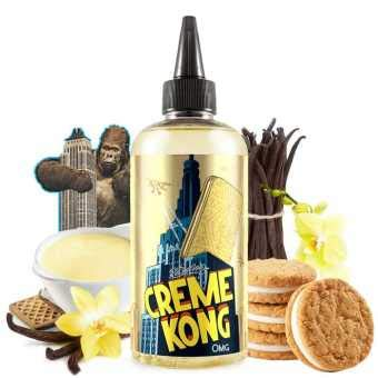 Creme Kong by JOES Juice UK Zero Nicotine 200 ML SHORTFILL High VG TPD Compliant