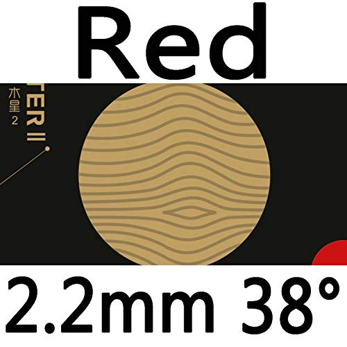 Best Deals! YINHE Galaxy Jupiter II Tacky Pips in Table Tennis Rubber Sheet (red 2.2mm 38°)