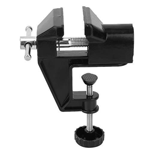 Mini-Schraubstock, Mini-Aluminium-Legierung 360 Grad-Umdrehung Haushalts-Schraubstock-Werkzeugmaschine für die elektrische Haushaltsreparatur