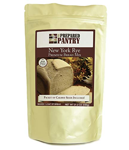 The Prepared Pantry New York Rye Gourmet Bread Mix; Single Pack; For Bread Machine or Oven