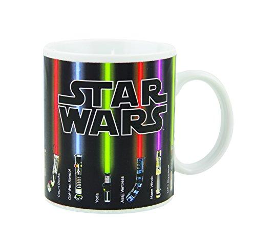 Star Wars Farbwechsel-Tasse Lichtschwert, Farbänderung bei Temperaturwechsel, Mehrfarbig
