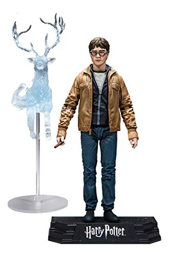 McFarlane- Wizarding World Collection Figura de Acción Harry Potter, Multicolor (13301-1)