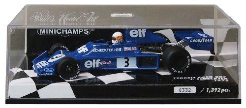 Minichamps 400750003 - 1:43 1975 Tyrrell Ford 007 Jody Scheckter