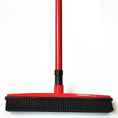 Boden Haar Besen Staub Scraper & Tiergummibürste Teppich Teppichreiniger Kehrmaschine Keine Handwäsche Mopp reinigen Wischen Fenster Werkzeug (Color : 1)
