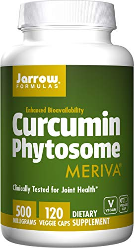 Curcumin Phytosome, Meriva, 500 mg, 120 Veggie Caps - Jarrow Formeln