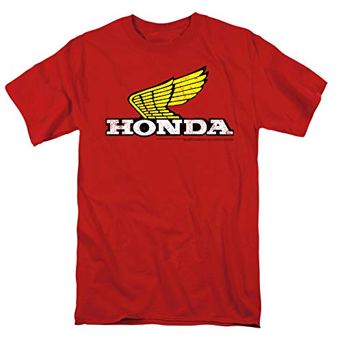 Honda Yellow Wing Logo T-Shirt & Stickers (XXXXX-Large)