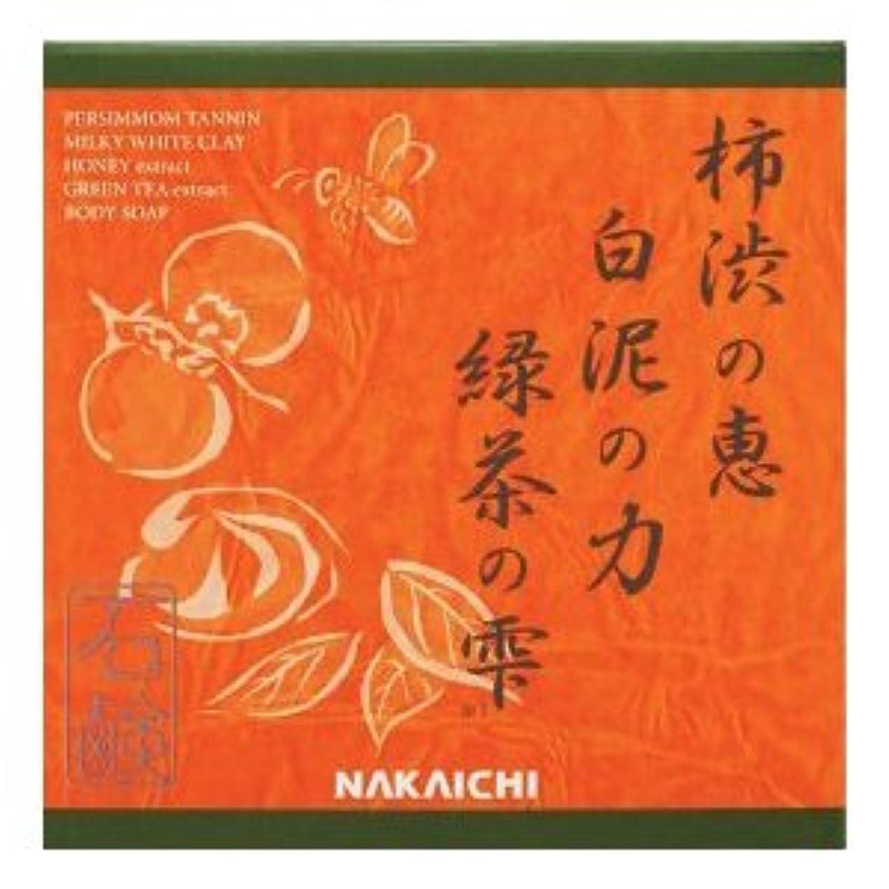 カーテン寸法嵐の柿渋の恵み?白泥の力?緑茶の雫  Nakaichi クリアボディーソープ  100g  (化粧品)