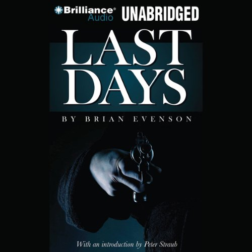 Last Days audiobook cover art