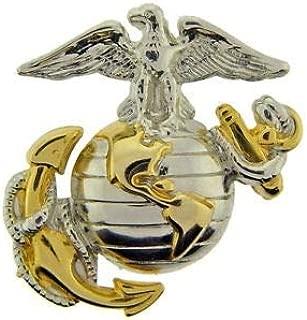 Eagle Globe and Anchor Emblem Hat Pin 1 1/8