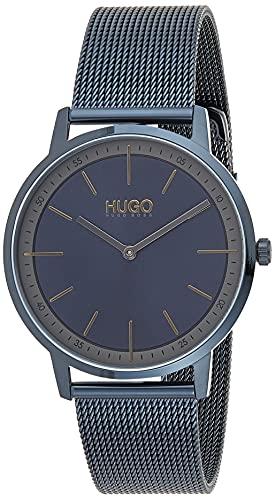 Hugo Boss Orologio Analogico Quarzo Unisex con Cinturino in Acciaio Inox 1520011