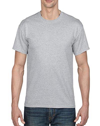 Gildan Men's DryBlend T-Shirt, Style G8000, 2-Pack, Sport Grey, Large