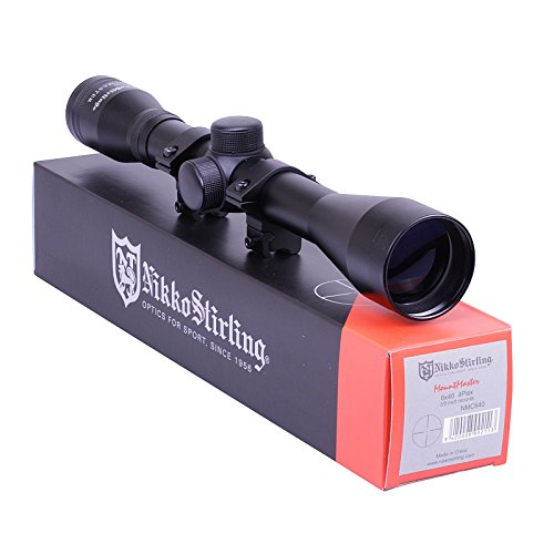 Nikko Stirling Mountmaster 6x40 Riflescope Half Mil Dot With Mounts NMC640...