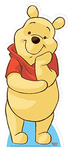 Disney Star Einbauöffnungen sc376Winnie The Pooh Lebensgröße Karton Cut Out