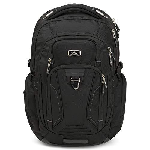 High Sierra TSA Elite Laptop Backpack, Black, One Size