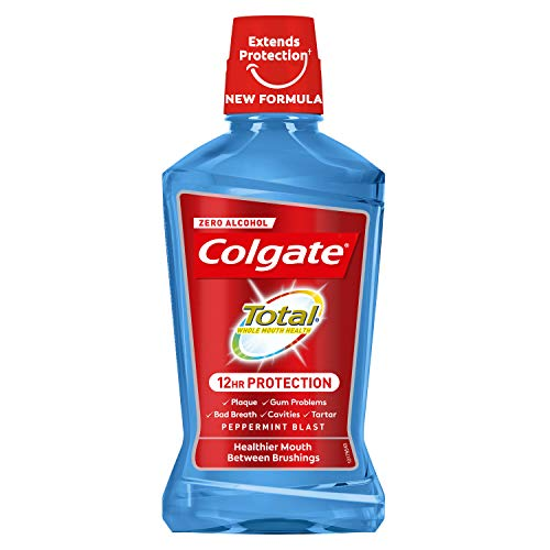 Colgate Oral Care Bain de Bouche Total Peppermint...