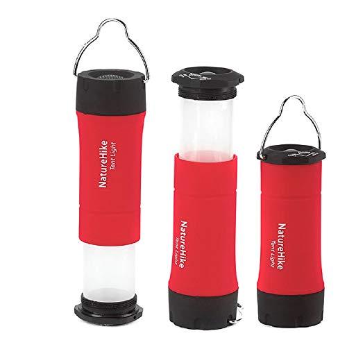 Naturehike Portable Mini CREE R2 LED Clignotant zoomables Lanterne de Camping Outdoor LED Tente Lampe avec 3 Modes de Travail