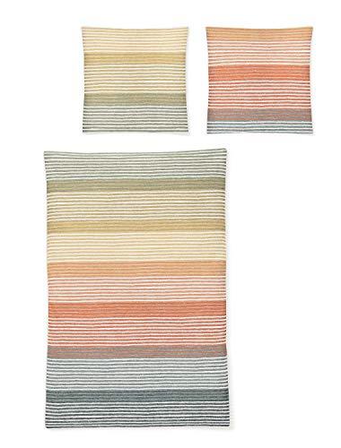 Irisette Mako-Satin Bettwäsche EOS Tok Sommer 1 Bettbezug 135 x 200 cm + 1 Kissenbezug 80 x 80 cm