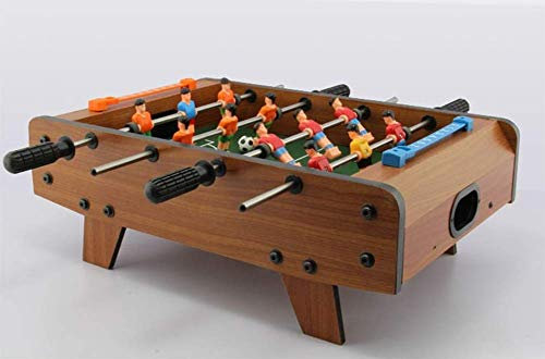 ZXMDP Tischfußball-Set Mini-Fußballspiel Leichter tragbarer hölzerner Fußballtisch Tischfußballspiel für Kinder Holzrahmen Fußballspiel Spielzeug Set Rutschfester Fußballspieltisch