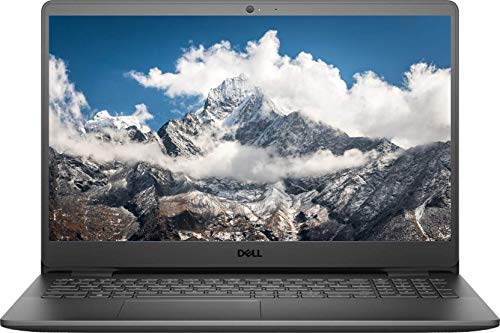 2021 Newest Dell Inspiron 3000 Laptop Computer, 15.6 Inch HD Display, Intel Pentium Processor N5030 (Up to 3.10Ghz), 8GB RAM, 128GB SSD, Webcam, Wi-Fi, HDMI, Windows 10 Home, Black (Latest Model)