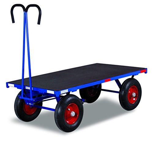 Handpritschenwagen ohne Bordwand Traglast (kg): 1000 Ladefläche: 2000 x 1000 mm RAL 5010 Enzianblau