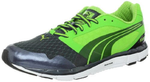 PUMA Men's faas 500 v2-m, Dark Grey/Green/Black, 8.5 D US