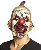 Boland 10134369 - Máscara de látex con diseño de payaso, multicolor