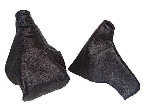 1994-99 Schaltsack & Handbremsmanschette schwarz Echtleder