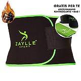Zaylle® - Fascia Dimagrante Addominale Uomo Donna - Cintura Effetto Sauna - 2a Generazion...