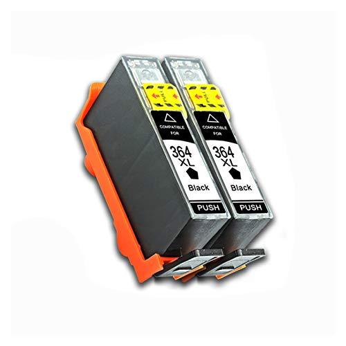 WENAN Cartuchos de la Impresora Cartucho de Impresora para HP Photosmart 364XL HP 364 XL Reemplazo 5510 5515 6510 B010A B109A B209A Deskjet 3070A HP364 Cartucho de Tinta (Color : 2bk)