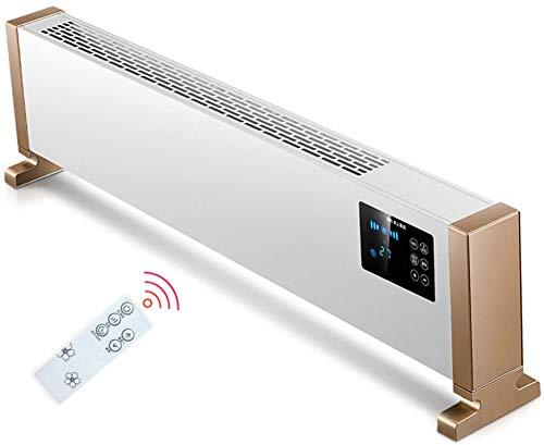 Calentadores eléctricos de calentamiento Calentador eléctrico Rodapié aire caliente por convección con...