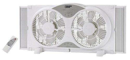 Window Fan 9 in Reversible Wht