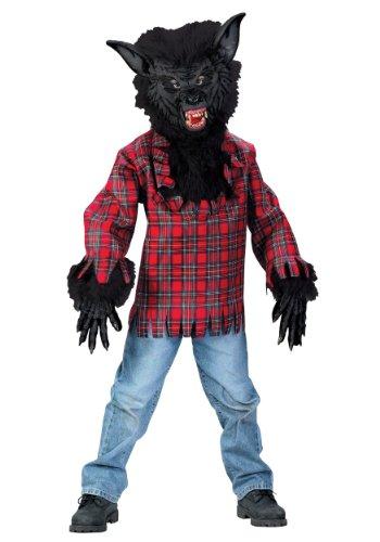 Funworld Werewolf Costume - Large Black Large (12-14)